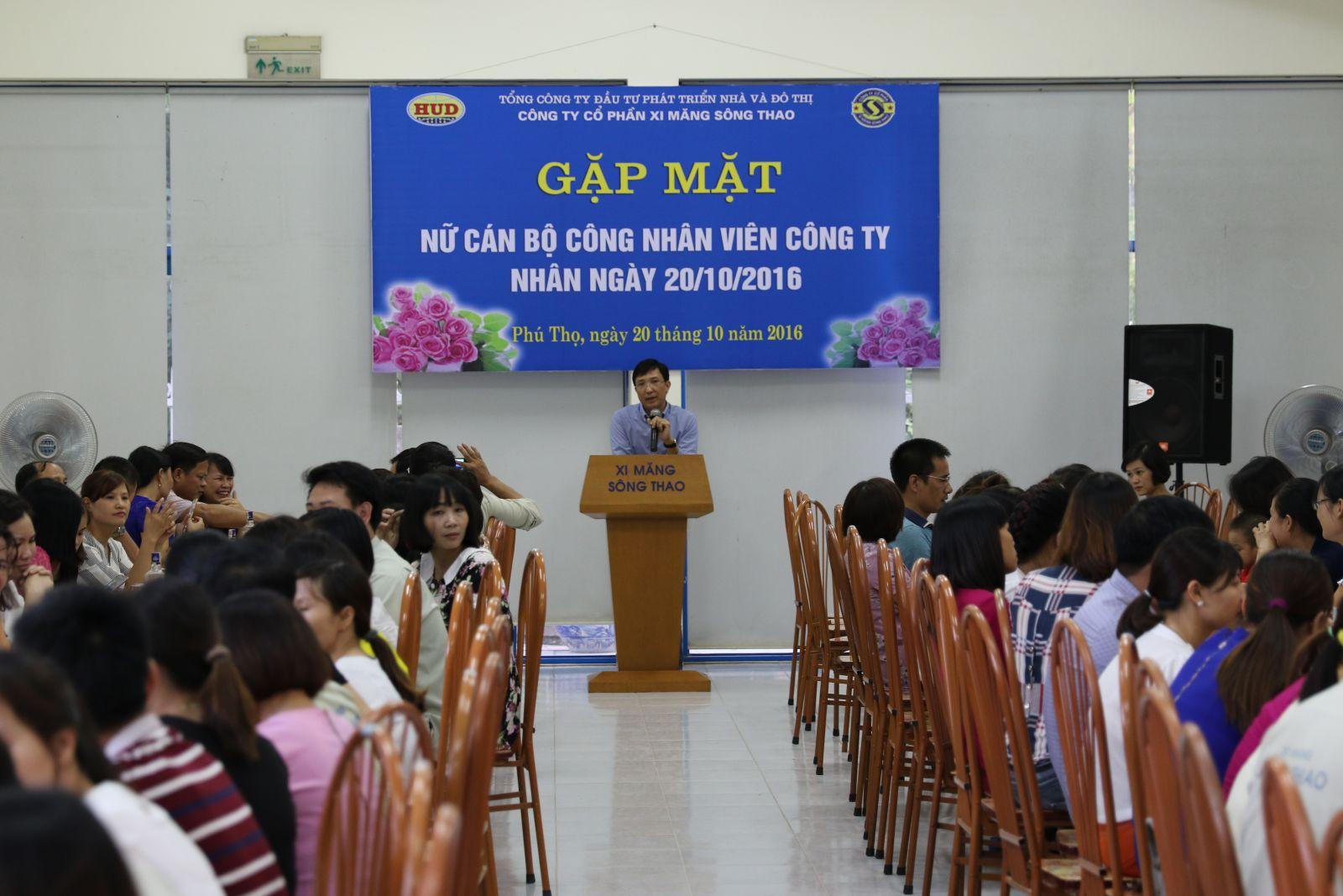 Gặp mặt Nữ CBCNV nhân dịp Kỷ niệm Ngày thành lập Hội LHPN Việt Nam