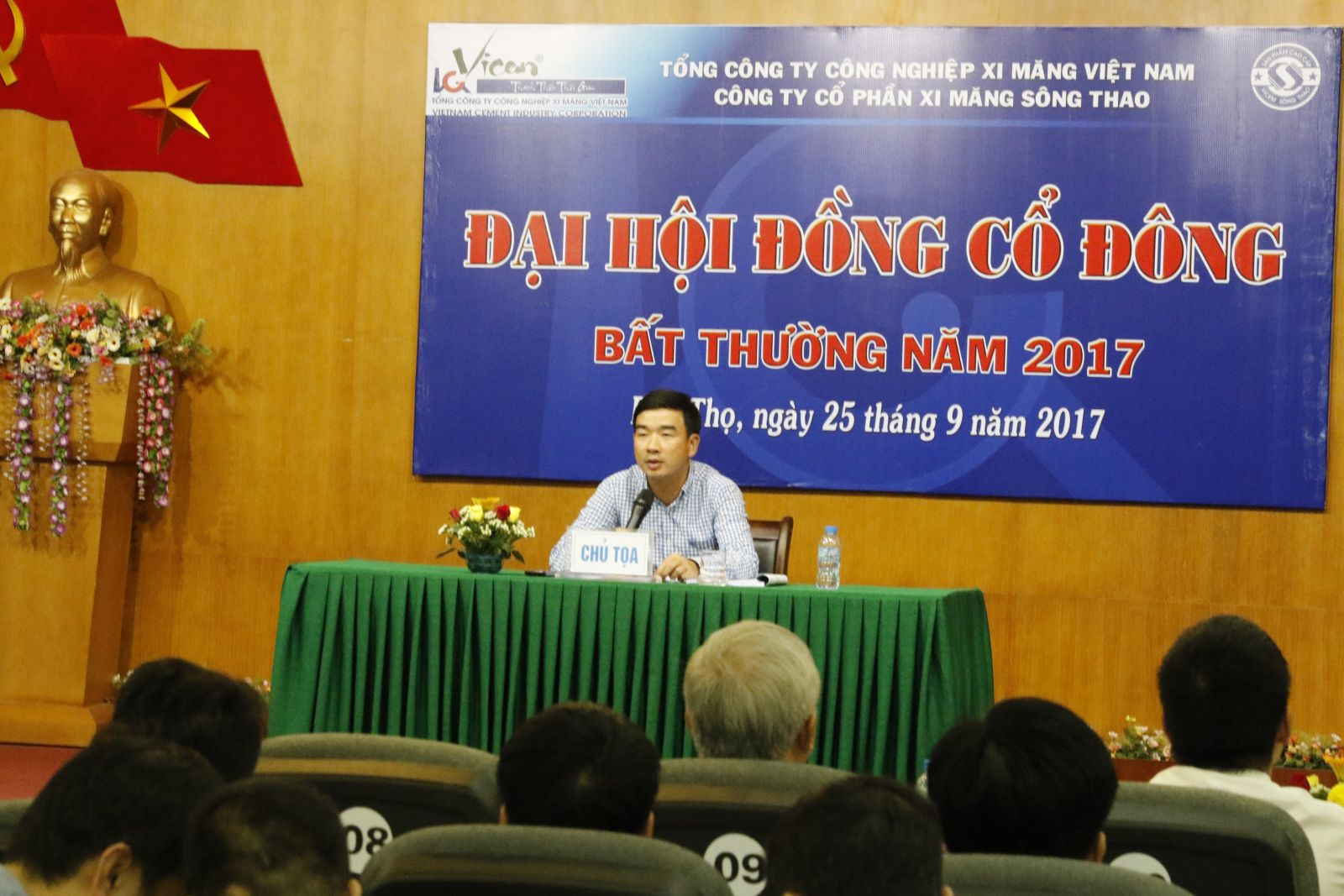 Công ty cổ phần xi măng Sông Thao tổ chức thành công Đại hội đồng cổ đông bất thường năm 2017