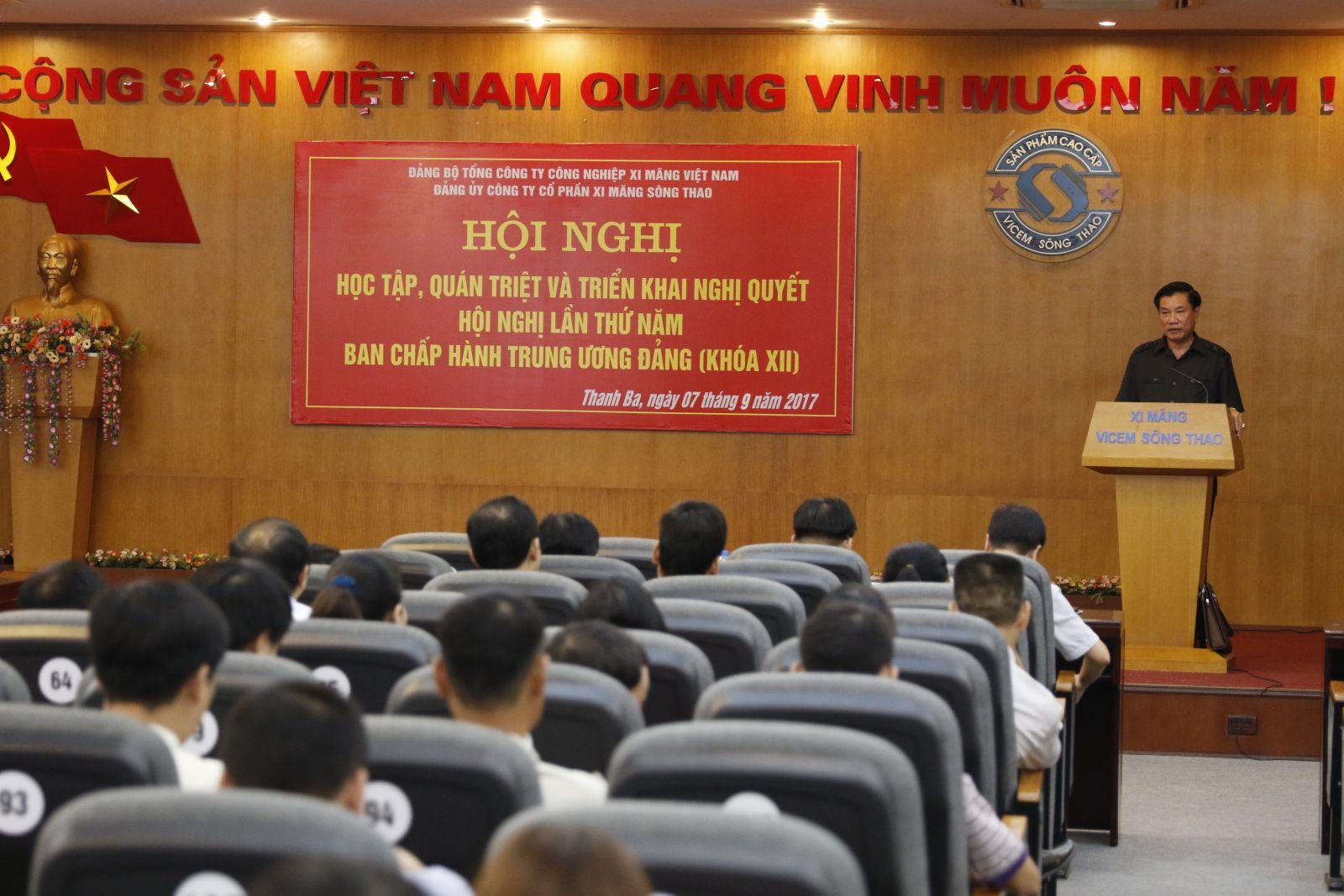 Học tập, quán triệt Nghị quyết Hội nghị lần thứ 5 Ban chấp hành Trung ương Đảng