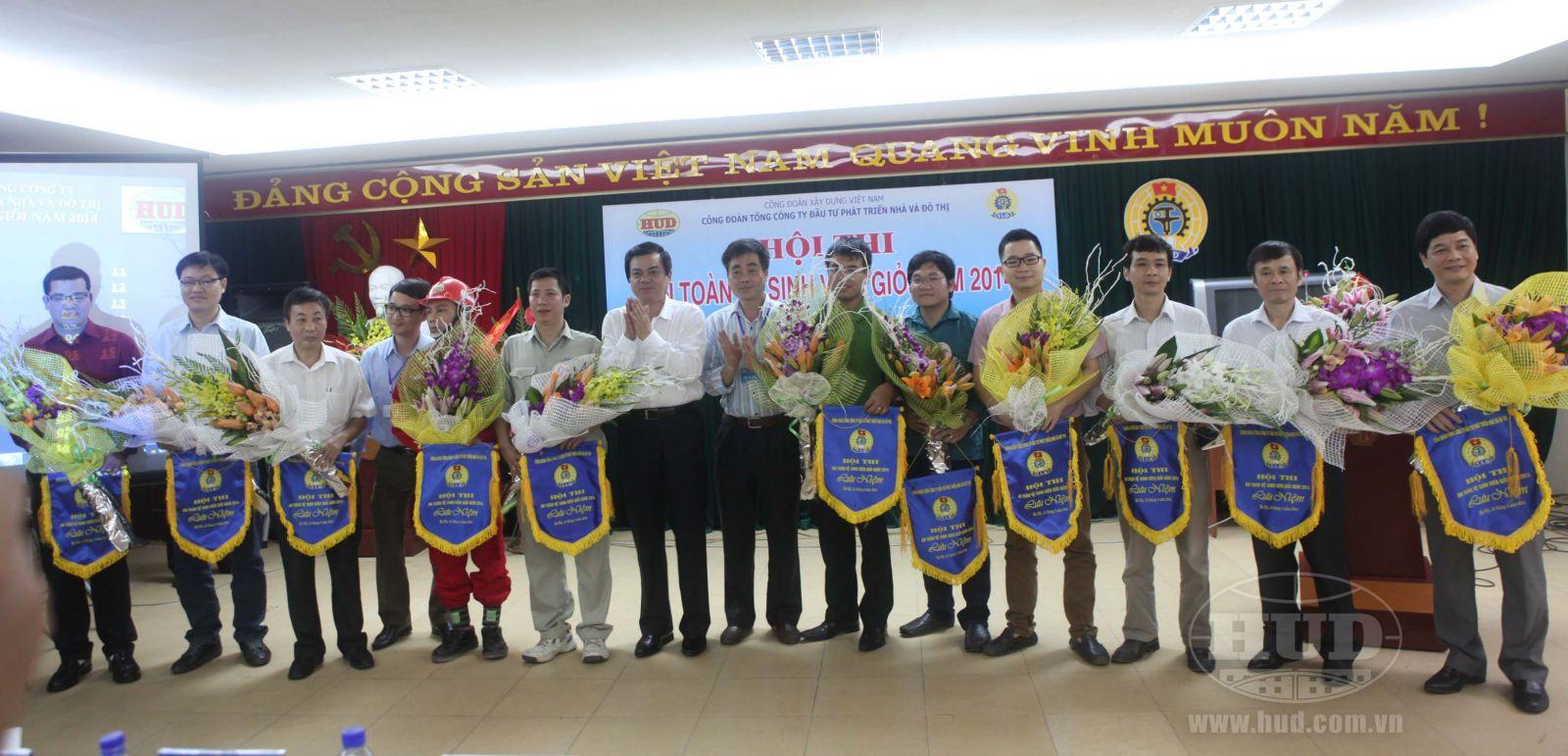 Hội thi An toàn vệ sinh viên giỏi năm 2014 của Tổng công ty HUD thành công tốt đẹp