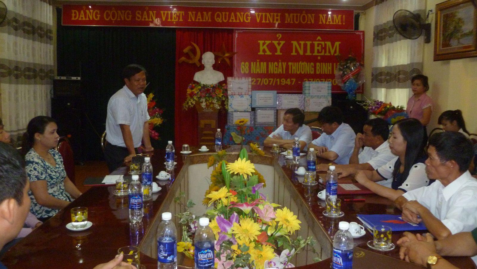 Công đoàn Công ty CP Xi măng Sông Thao tổ chức các hoạt động nhân dịp kỷ niệm 68 năm Ngày thương binh liệt sĩ 27/7/1947 - 27/7/2015