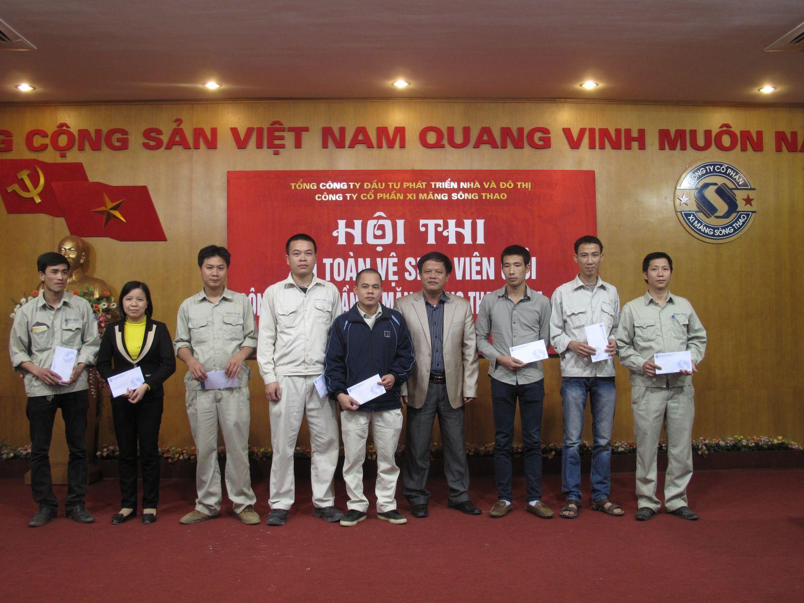Hội thi An toàn vệ sinh viên giỏi năm 2014