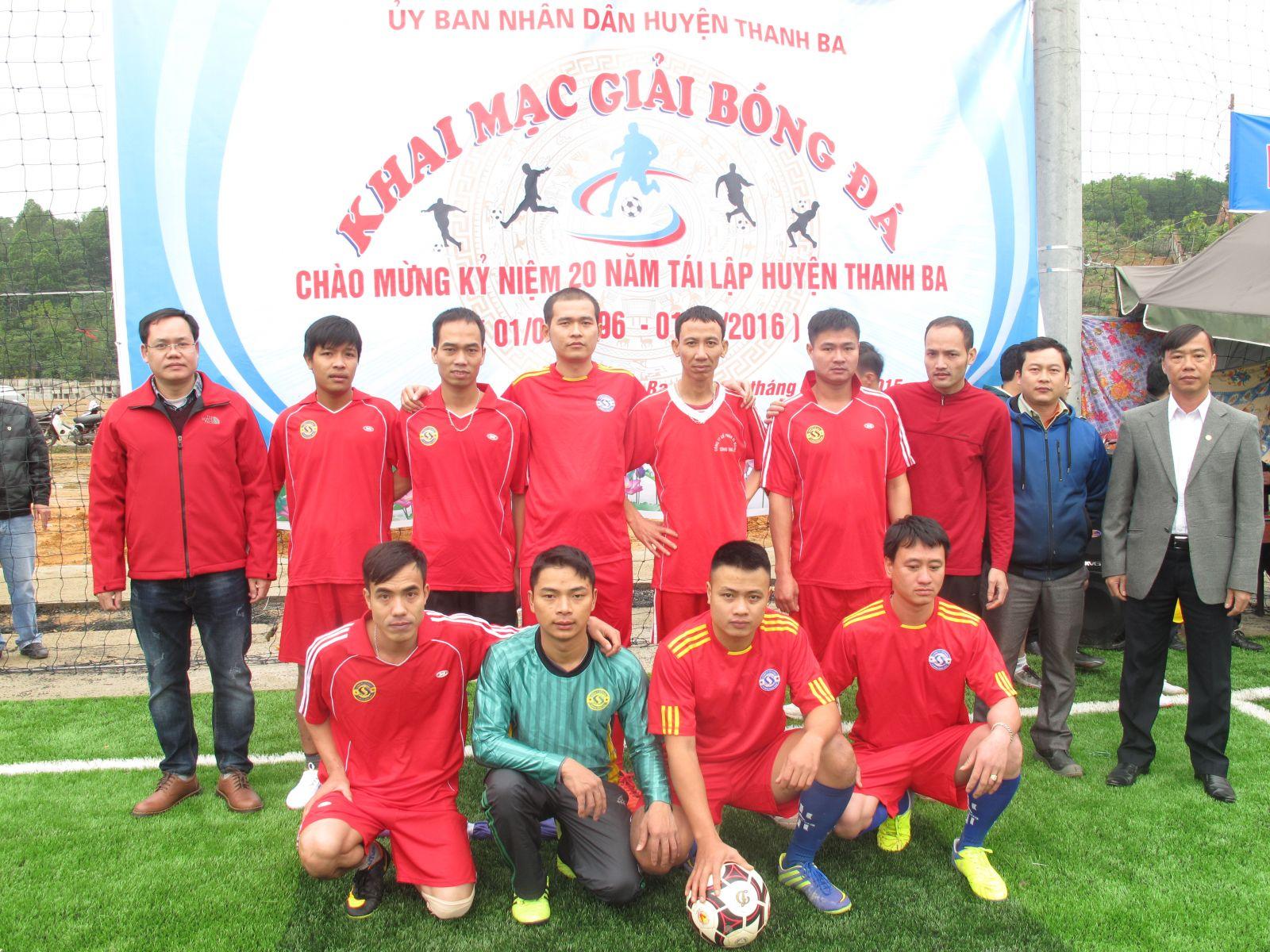 Tham gia các hoạt động chào mừng kỷ niệm 20 năm ngày tái lập huyện Thanh Ba